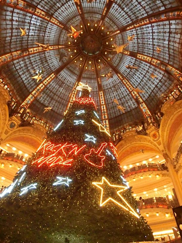 Árvore de Natal Galerie Lafayette, Paris