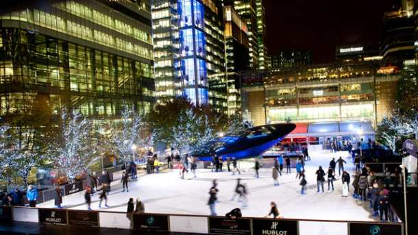 CanaryWharfIceRink