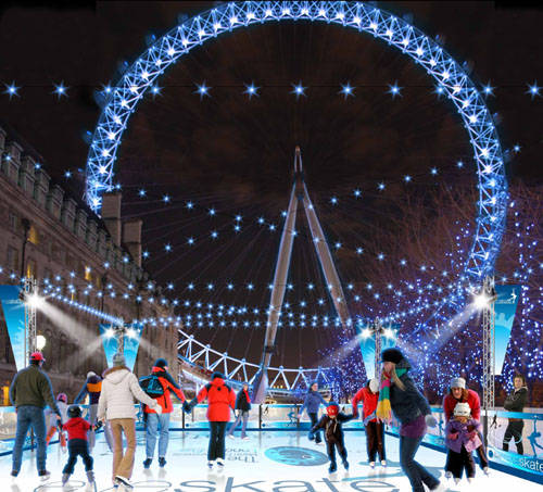 London-Eye-Ice-Rink