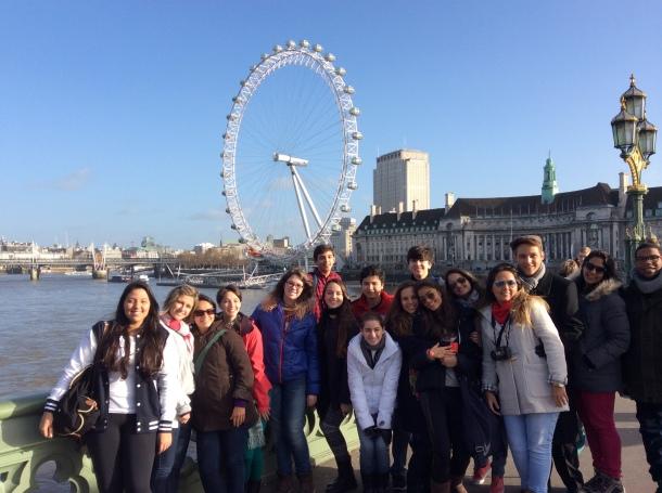 Grupo VCG 2014 em Londres. CP4 Cursos no Exterior|Traveller