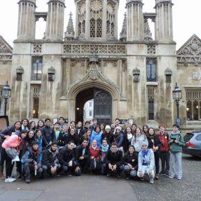 Uma fantástica experiência de intercâmbio – VCG CP4 na Cambridge Academy ofEnglish