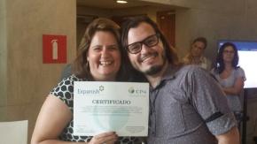 CP4 premia aluno da UVA vencedor do Concurso Novos Talentos2016