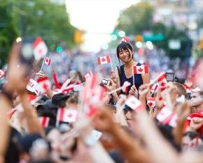 Canadá comemora 150 anos com muitafesta