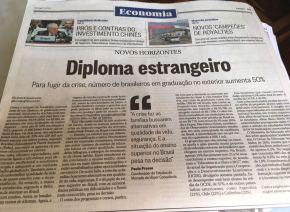 Diretoria executiva da CP4 e coordenadora da Belta no RJ fala sobre diploma estrangeiro no OGLOBO
